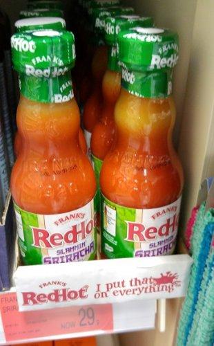 Frank's RedHot Slammin' Sriracha Chili Sauce 148ml 29p @ B&M (Instore)