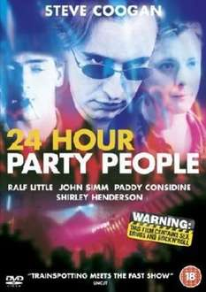 24 Hour Party People DVD and CD Sountrack used £2.40 @ musicmagpie