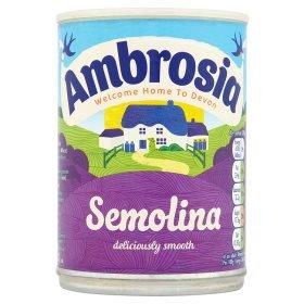 Ambrosia Semolina 400g 50p Asda