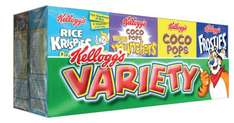 Kellogg Variety pack - Aldi Ashby-de-la-Zouch ** Instore only **