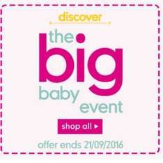 mothercare baby event - Items from 75p