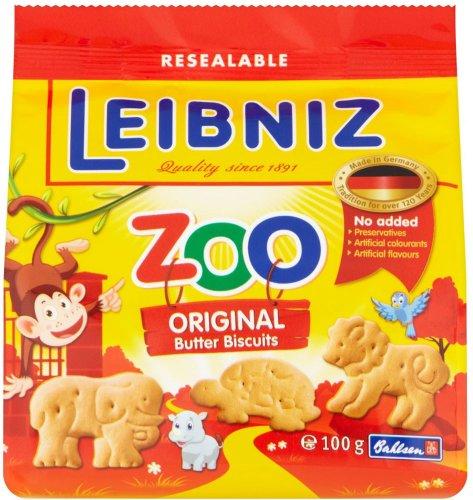 Bahlsen Leibniz Zoo Butter Biscuits for Children (100g) was £1.00 now 50p @ Tesco