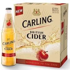 Carling cider - £6 instore @ Tesco (Borehamwood)