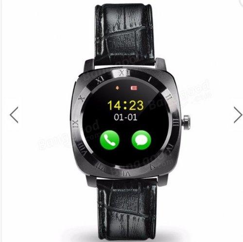 X3 Bluetooth Pedometer Sleep Monitor Remote Camera Music SIM TF Card Leather Android Smartwatch £18.08 Banggood.com