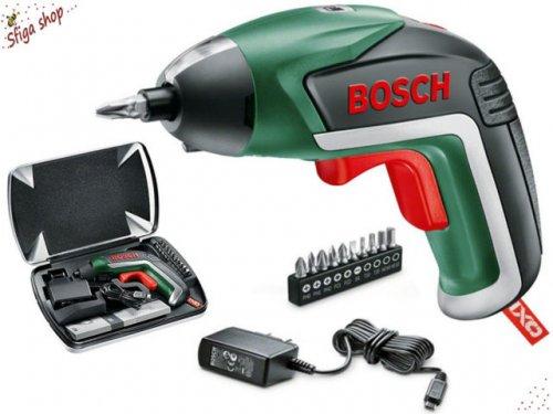 Bosch IXO Cordless Lithium-Ion Screwdriver with 3.6 V Battery, 1.5 Ah @ B&Q - £20.70