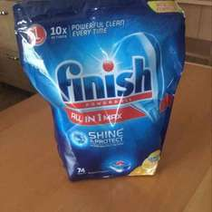 Finish - all in one max- 72 tab pack £6.50 - Boyes