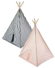 Aldi chevron or polka dot teepee £19.99