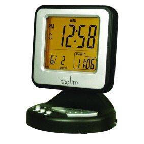 Acctim Transparent Digital LCD Alarm Clock 96p @ Maplin