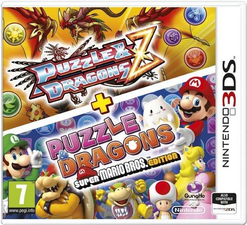 [Nintendo 3DS] Puzzle and Dragons Z + Puzzle and Dragons Super Mario Bros. Edition - £8.99 (Prime) / £10.98 (Non Prime) - Amazon