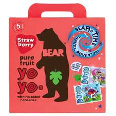 Bear Strawberry Yoyo Multipack 5X20g £1.50 @ Tesco