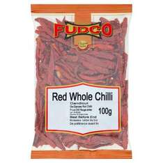 Fudco Whole Red Chilli 100g: was £1.50 now just 20p Instore and Online @ Morrisons