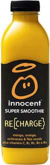 Innocent Super Smoothie Energise Strawberry, Cherry & Guarana Super Smoothie (Re-Charge) (750ml) was £3.39 now £1.65 @ Waitrose