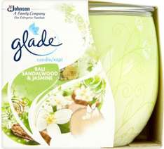 Glade Bali Sandalwood and Jasmine / Relaxing Zen / Glade Jar With Love Candle was £5.00 now £2.00 @ Morrisons