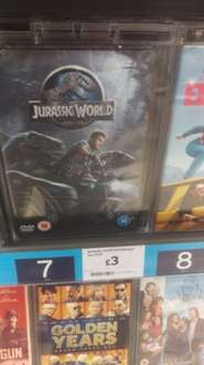 Jurassic world DVD only £3 at Sainsbury's in store