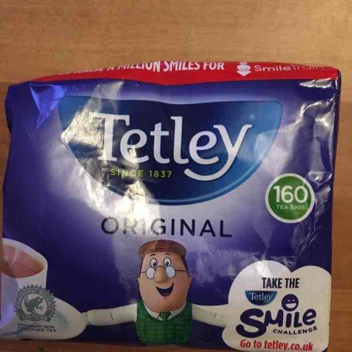 Tetley teabags 160 £1.13 in store @ Tesco