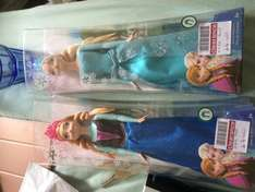 Frozen Dolls £4 each at boots LINCOLN