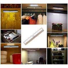 Stick-on motion sensing 10-LED light £5.49 (Prime) / £9.48 (non Prime)  Sold by Lerpby and Fulfilled by Amazon.