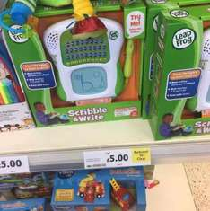 leap frog scribble and write - £5 instore @ Tesco