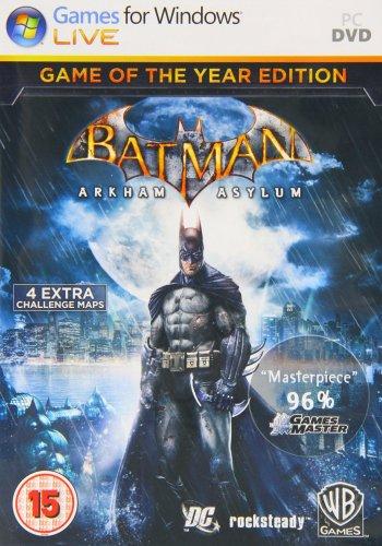 Batman Arkham Asylum Game Of The Year Edition (PC) £2.76 (Prime) £4.75 (Non-prime) Delivered @ Amazon
