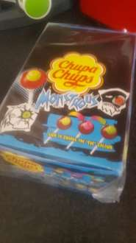 Box of 24 Chupa Chups Monstrous - £1.49 - Home Bargains