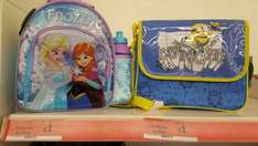 frozen and minions lunch bags £1 @ sainsburys instore