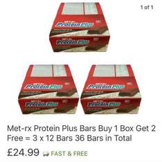 *Short Dated* Met-rx protein plus bars x36 £24.99 delivered ebay /  champ1x  (Best Whey Ltd)