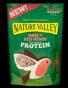 Nature Valley Oats 'n Red Berry Granola (360g) - £1 at Home Bargains