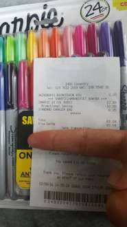Sharpie 24pk £8.04 @ WH Smith instore