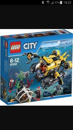 LEGO 60092 deep sea submarine £12.50 @ BOOTS
