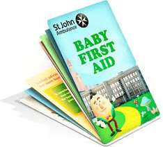 FREE pocket Baby First Aid guide from St Johns Ambulance