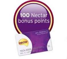 Bonus Nectar points every time spend £5 from 14 to 28th Sept