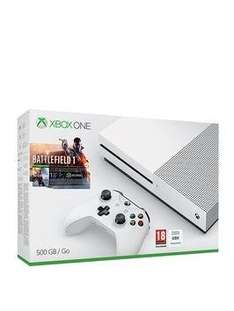 Xbox One S w/ Battlefiled 1 £249 @ Very