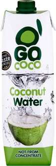 'go coco' coconut water, 1 litre carton for £1 at home bargains rock ferry retail park wirral