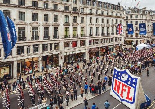 NFL returns to Regent Street on 1st October -free events, meet players & cheerleaders!
