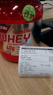 2 x met-rx supreme whey £26.23 @ Holland and Barrett
