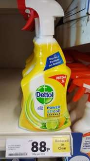Dettol power and fresh 1L 88p in-store Tesco