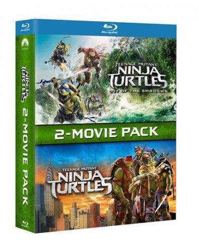 Teenage Mutant Ninja Turtles: 2-Movie Pack (Box Set) [Blu-ray] £14.99 @ Zoom