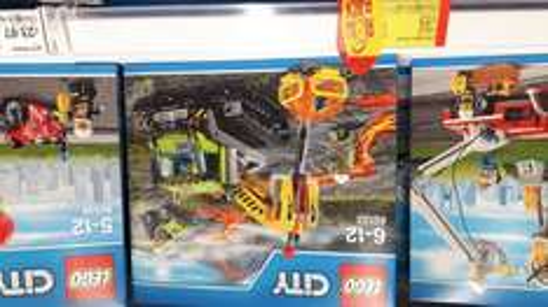 Lego city volcano crawler £15 instore @ ASDA / Hull kingswood