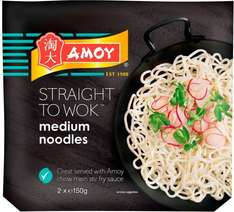 Amoy Straight to Wok Thread Fine Noodles (2 x 150g) was £1.71 now 3 boxes of 2 packs for £2.50 @ Morrisons