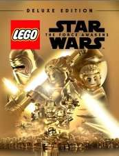 LEGO Star Wars The Force Awakens - Deluxe Edition PC ( £11.39 ish with cdkeys 5% fbook like code