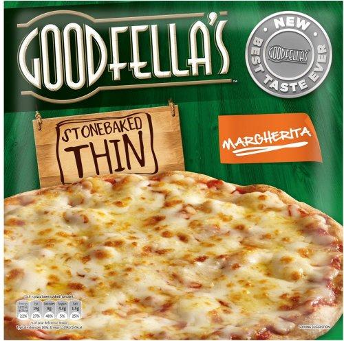 Goodfella's Stonebaked Thin Margherita Pizza (345g) was £2.00 now £1.25 @ Tesco