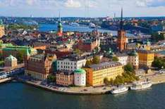 19 nights around Europe including Helsinki and Stockholm for £396.63 including flights, buses, ferries and hostels @ Expedia