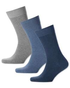 3 Free Pairs Of Socks If You Pay Postage (£4.95) @ Charles Tyrwhitt (with code)