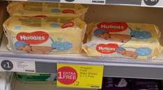 Iceland - Huggies pure baby wipes 3 for £2  [buy 2 get 1 free]