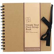 Create Your Own Scrapbook - £2.40 C&C @ The Works (With code - Add £2.99 for delivery)