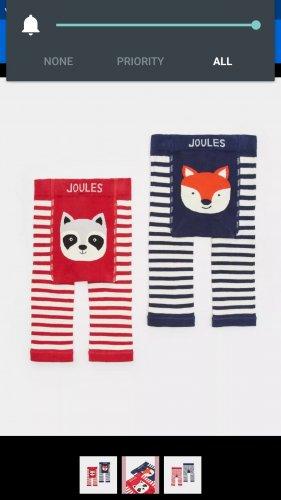 eBay Joules Outlet 2 pack animal leggings baby/ toddler 4 different design packs £9.95 each