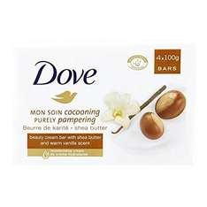 Dove Purely Pampering Shea Butter Beauty Bar 4 x 100g £1.25 @ Superdrug Online & In store.