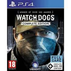 Watch Dogs Complete Edition PS4/XB1 £12.99 @ 365games