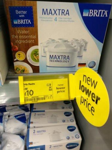 Brita Maxtra 4 pack £10 Asda