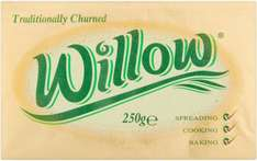 Willow Vegetable Fat Spread (250g) was 90p now 2 for £1.40 @ Iceland